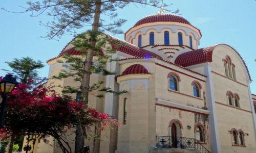 Zdjęcie GRECJA / Kreta / Rethymnon / Kościół w Rethymnonie