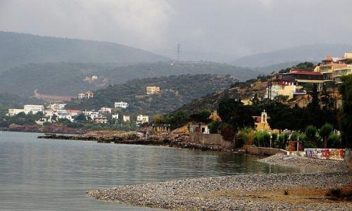 Zdjęcie GRECJA / Kreta / Agios Nikolaos / Agios Nikolaos w deszczu