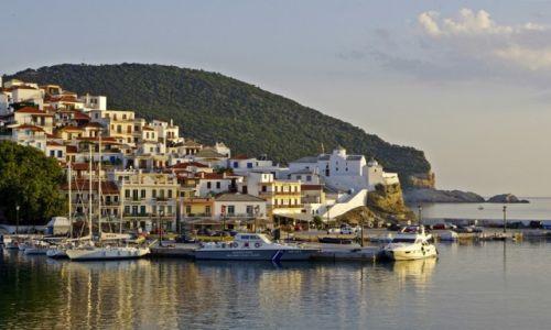 Zdjecie GRECJA / Tesalia / Skopelos / Skopelos