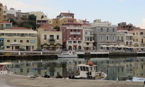 Zdjęcie GRECJA / Kreta / Agios Nikolaos / przystań łódek
