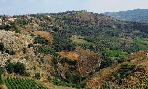 Zdjęcie GRECJA / Kreta / Trasa Heraklion - Faistos / kreteńskie pejzaże