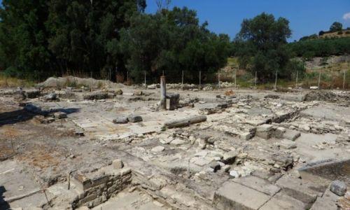 Zdjęcie GRECJA / Kreta / Gortyna / ruiny starożytnej Gortyny