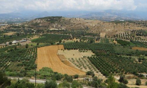 Zdjęcie GRECJA / Kreta / Faistos / kreteńskie pejzaże