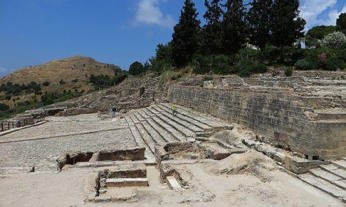 Zdjęcie GRECJA / Kreta / Faistos / pozostałości pałacu w FAJSTOS