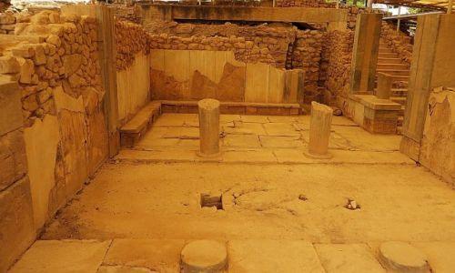 Zdjęcie GRECJA / Kreta / Fajstos / komnata królowej