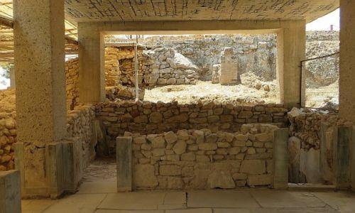 Zdjęcie GRECJA / Kreta / Fajstos / megaron krola