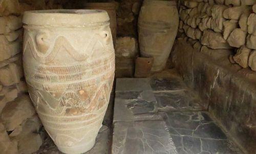 Zdjęcie GRECJA / Kreta / Fajstos / minojski pitos