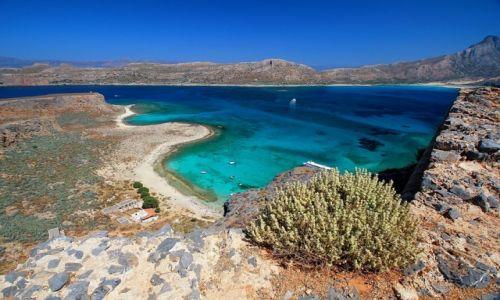 Zdjęcie GRECJA / Kreta / Balos / Gramvousa