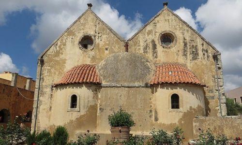 GRECJA / Kreta / okolice Rethimnonu / monastyr Arkadi