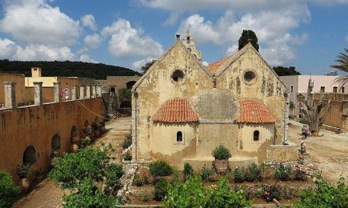 Zdjęcie GRECJA / Kreta / okolice Rethimnonu / monastyr Arkadi
