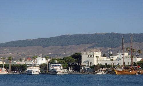 Zdjęcie GRECJA / Kos / Zatoka w Kos / Kos - morze i góry