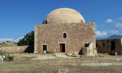 Zdjęcie GRECJA / Kreta / Rethimnon / twierdza wenecka - meczet Ibrahima