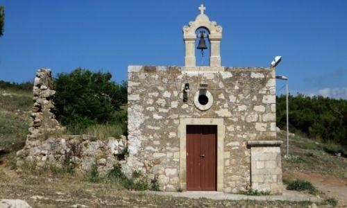 Zdjęcie GRECJA / Kreta / Rethimnon / twierdza wenecka - kościół Św. Katarzyny