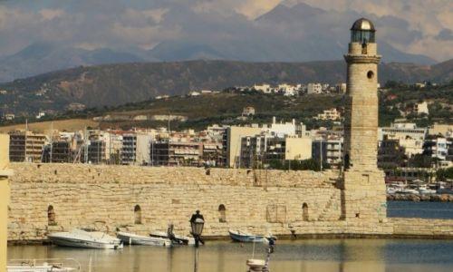 Zdjęcie GRECJA / Kreta / Rethimnon / port wenecki