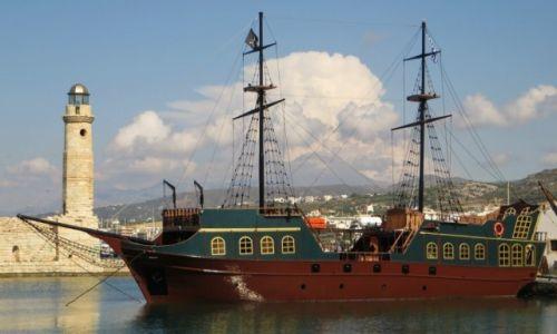 GRECJA / Kreta / Rethimnon / port wenecki