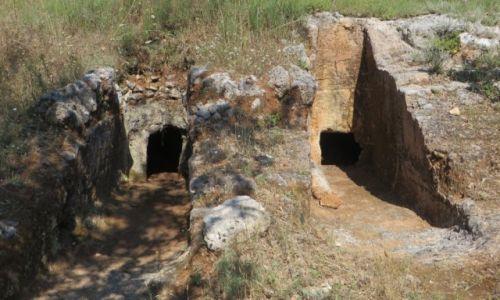 Zdjęcie GRECJA / Kreta / trasa Rethimnon - klasztor Preveli / cmentarz minojski