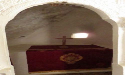 Zdjęcie GRECJA / Kreta / wąwóz Kourtaliotiko / skalny kościółek