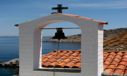 Zdjęcie GRECJA / morze Egejskie / Hydra / Kościółek