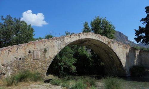 Zdjęcie GRECJA / Kreta / trasa Rethimnon - klasztor Preveli / most wenecki