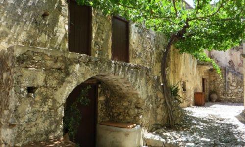 GRECJA / Kreta / klasztor Preveli / klasztor Kato Preveli