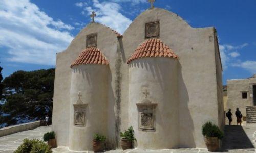 Zdjęcie GRECJA / Kreta / klasztor Preveli / klasztor Piso Preveli