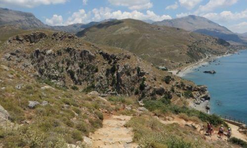Zdjęcie GRECJA / Kreta / okolice klasztoru Preveli / kreteńskie pejzaże