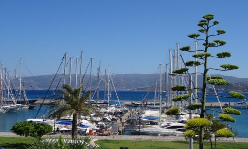 Zdjęcie GRECJA / Kreta Wschodnia / Agios Nikolaos / Port w Agios Nikolaos