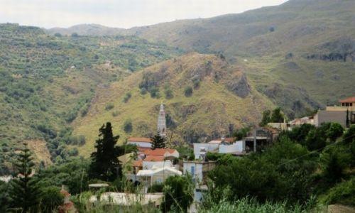 Zdjęcie GRECJA / Kreta / Kreta Zachodnia / wioska Topolia