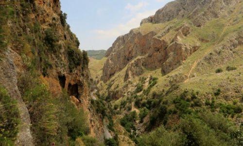 Zdjęcie GRECJA / Kreta / Kreta Zachodnia / wąwóz Topolia