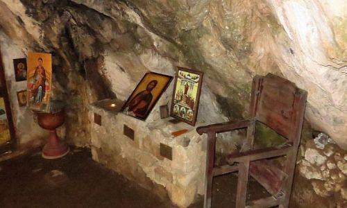 Zdjęcie GRECJA / Kreta / wąwóz Topolia / kościółek w grocie