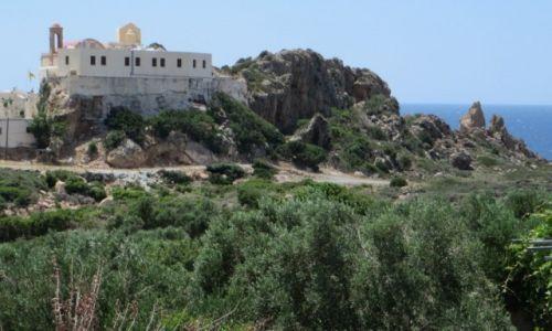Zdjęcie GRECJA / Kreta / Kreta Zachodnia / klasztor Chrysoskalitissa