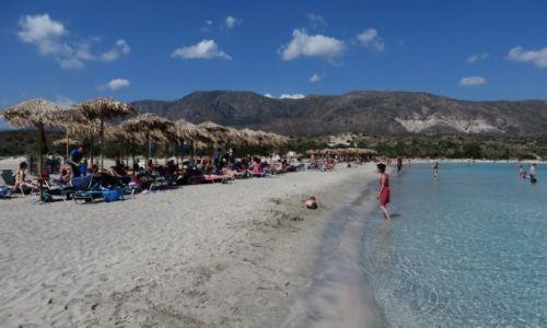 Zdjęcie GRECJA / Kreta / Kreta Zachodnia / plaża Elafonisi
