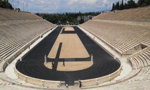 Zdjecie GRECJA / - / Ateny  / Stadion panatenajski