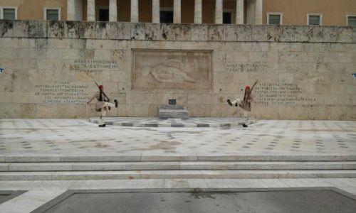 Zdjecie GRECJA / - / Ateny  / Evzoni