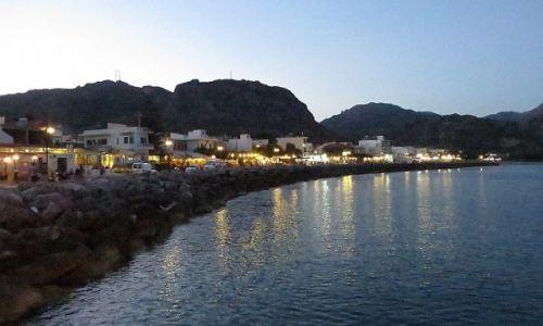 Zdjęcie GRECJA / Kreta / Paleochora / zmierzch nad morzem