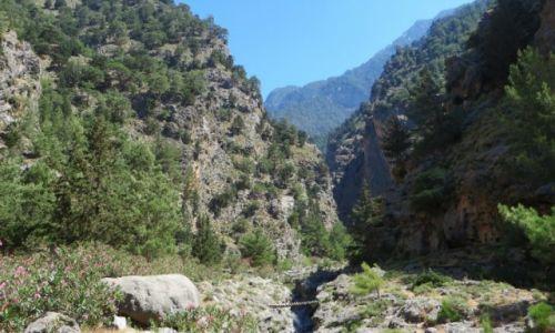 Zdjęcie GRECJA / Kreta / Kreta Zachodnia / wąwóz Samaria