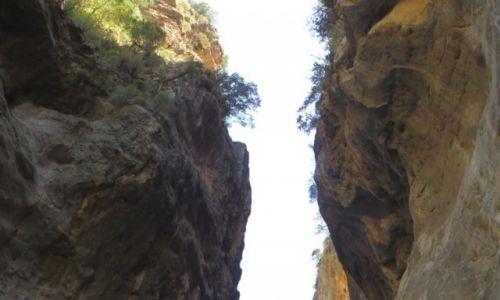Zdjecie GRECJA / Kreta / wąwóz Samaria / Żelazne Wrota