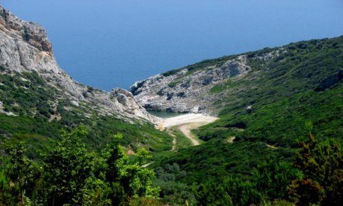 Zdjęcie GRECJA / Morze Egejskie / Skiatos / Zatoczka