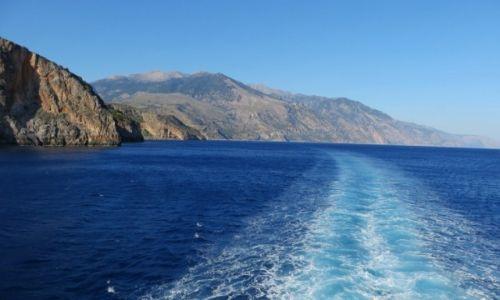 Zdjęcie GRECJA / Kreta / Kreta Zachodnia / morze Libijskie