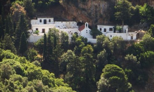 Zdjęcie GRECJA / Kreta / wioska Azogires / Monastyr Świętych Ojców