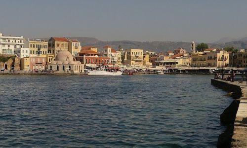 Zdjecie GRECJA / Kreta / Chania / port wenecki