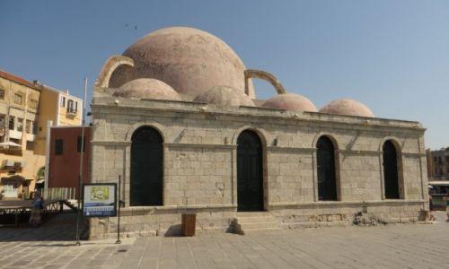 Zdjęcie GRECJA / Kreta / Chania / meczet Janczarów