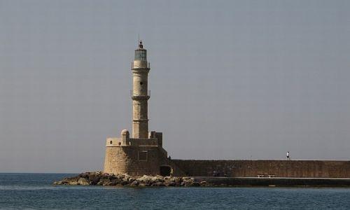 Zdjęcie GRECJA / Kreta / Chania / port wenecki