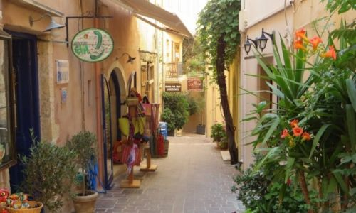 Zdjęcie GRECJA / Kreta / Chania / stare miasto