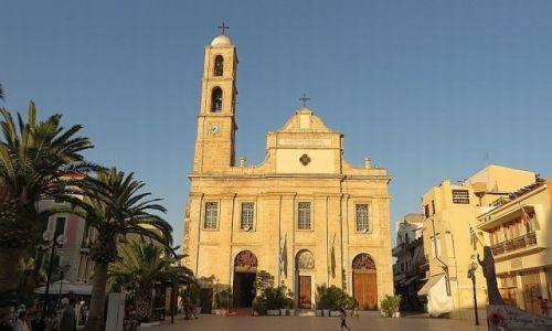 Zdjęcie GRECJA / Kreta / Chania / katedra