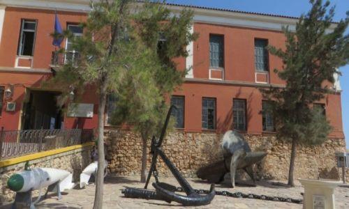 Zdjęcie GRECJA / Kreta / Chania / budynek Muzeum Morskiego