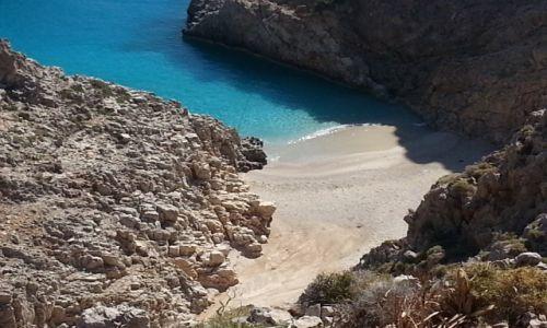 Zdjęcie GRECJA / Chania / Teufelsstrand / Kreta