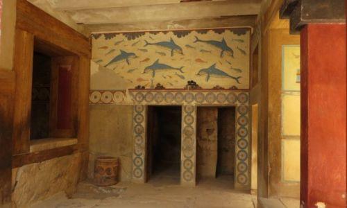Zdjecie GRECJA / Kreta / Knosos / pałac Minosa w Knosos