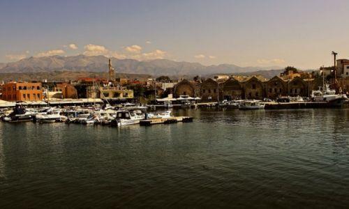 Zdjęcie GRECJA / Kreta Zach / Chania / Wybrzeże portowe