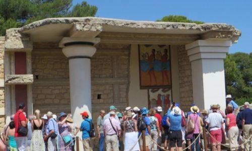 Zdjęcie GRECJA / Kreta / Knosos / pałac Minosa w Knosos